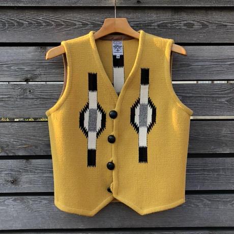 ORTEGA'S CHIMAYO vest (36.イエロー)