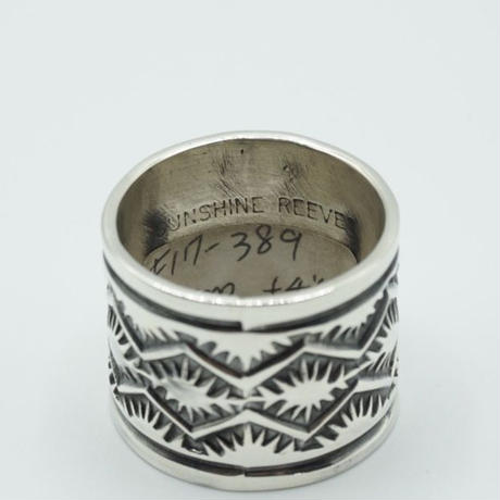 Indian Jewelry Ring by Sunshine Reeves