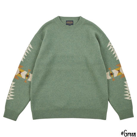 PENDLETON L/S Wool Mockneck Sweater