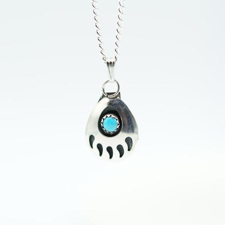 Indian Jewelry Bearpaw NAVAJO Top