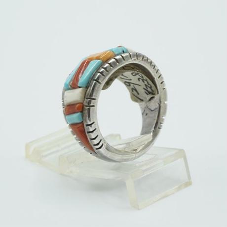 Indian Jewelry NAVAJO Ring byDavid Tune