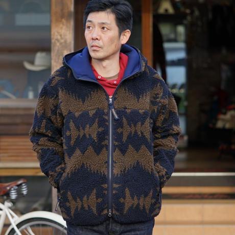 PENDLETON Zip hoodie(ネイビー)