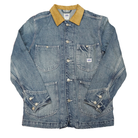 Lee Corduroy coverall(Used wash)