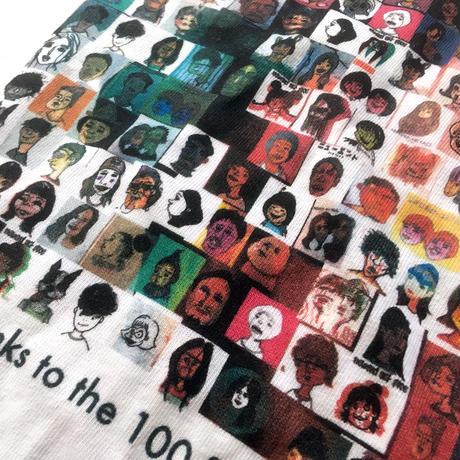 【ART FACE】100 FACES Tシャツ&エコバッグ記念セット(タイプ1)