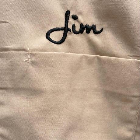 JIM 刺繍ロングスリーブシャツ