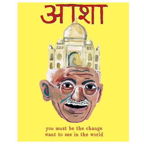 Gandhi3 Tシャツ
