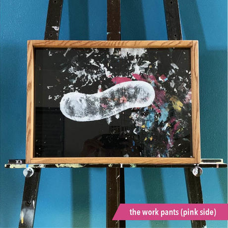 "【DENPA】""the work pants(blue side)"" / ""the work pants(pink side)"
