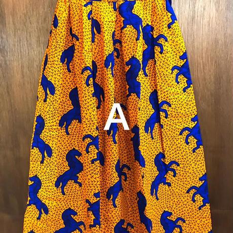 【ALAN EGZOTIK】アフリカキテンゲスカート