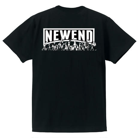 【NEWEND】チャリティー看板 Tシャツ