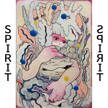 【nami】絵画「rotation」「SPIRIT」