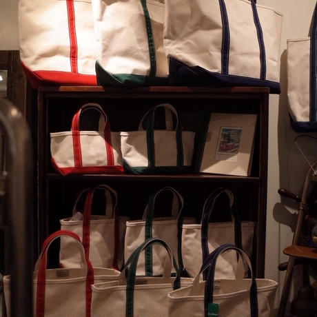 【幸地商店K₋STORE】別注LEATHER TOTE BAG