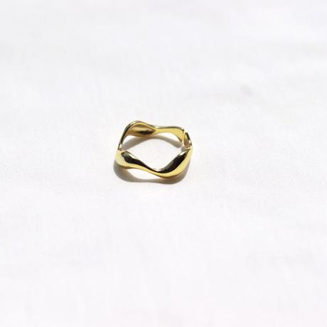 ring-06【シルバー925 18金コーティング】
