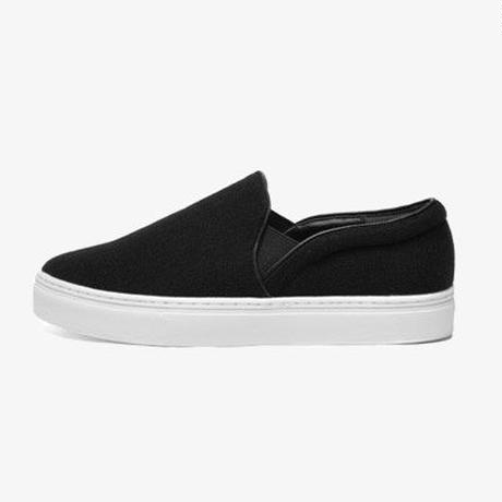 SLIP-ON (WOMENS) BLACK