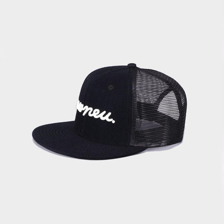 MESH LOGO CAP