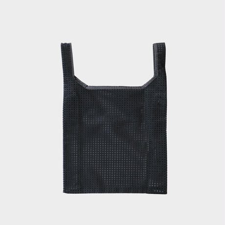 Lattice flat tote bag (L)