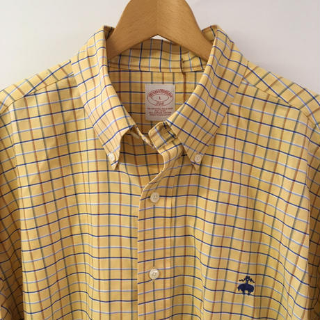 """USED BROOKS BROTHERS  check shirt"""