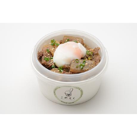 こめらく 和のスープとお茶漬けと。/牛すじ煮込みごはん(大阪)