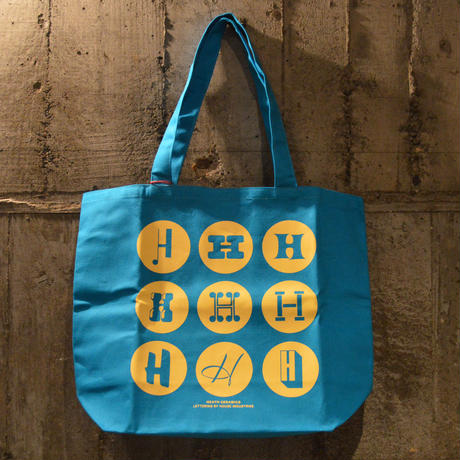 LITTLE CALIFORNIA|heath ceramics tote bag/blue