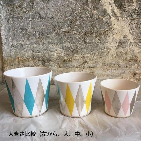 THE ACE SHOP | 徳田吉美 漆蒔きカップ(大) ストライプ