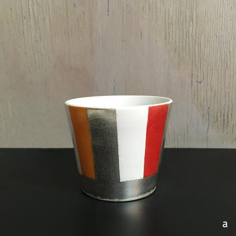THE ACE SHOP | 徳田吉美 漆蒔きカップ(中) ストライプ