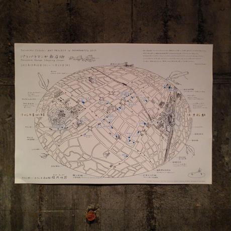 Yasuhiro Suzuki | 楕円地図(マップ折り)
