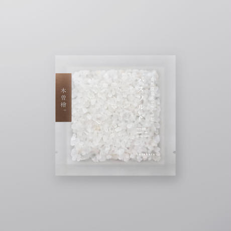 コトホギデザイン|hetekara 有馬温泉水でつくった バスソルト(木曽檜)