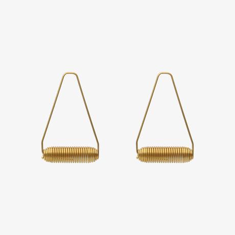 SPRING SPRING|SPRING WEAR circuit(ピアス)GOLD