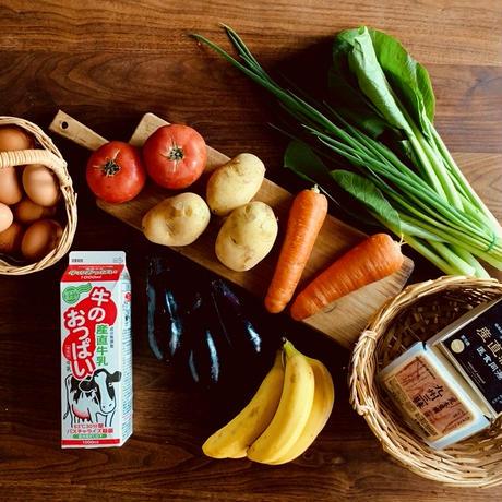 【お試し】自然派基本食材セット