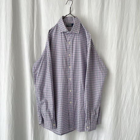 "▪️ "" Polo Ralph Lauren "" Cotton Check Dress Shirts ▪️"