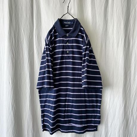 """"""" Polo Golf """" Cotton Border Shirts"""