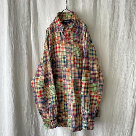 """ Polo Ralph Lauren "" Patch Work Check Shirts"