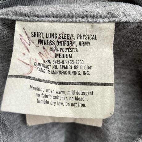 """ ARMY "" Training L/S T-Shirts"