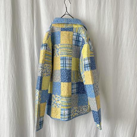 """▪️ """"  Donna Sharp  """" Quilt Shawl Collar Jacket ▪️"""