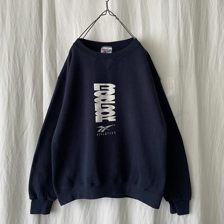 "90′s "" Reebok "" 刺繍 & Printed Sweat Shirts"