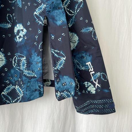 "▪️ Deadstock "" RLX "" Indigo "" 3-Layer Waterproof Pullover Jacket Size L ▪️"