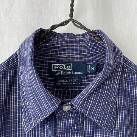 "▪️ "" Polo Ralph Lauren  "" LOWELL SPORT "" Cotton Check Shirts ▪️"