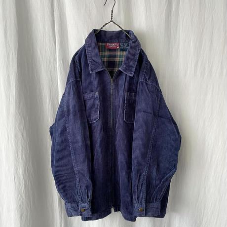 "▪️ "" Denim & Co. "" 太畝 Corduroy Zip-up Shirts ▪️"