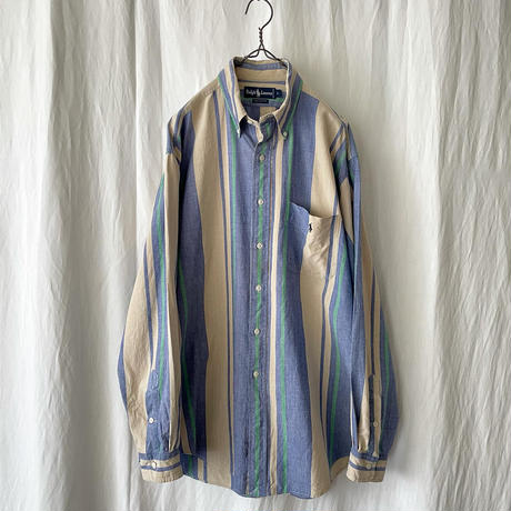 """ Polo Ralph Lauren "" Cotton Striped Shirts"