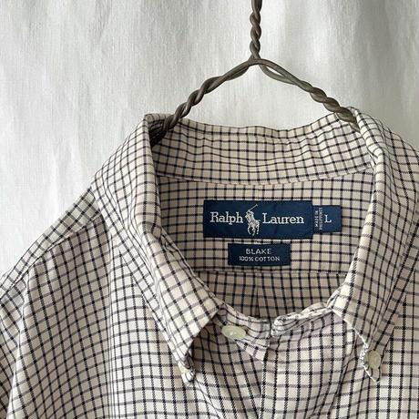""""""" Polo Ralph Lauren """" """" BLAKE """" Cotton Check Shirts"""