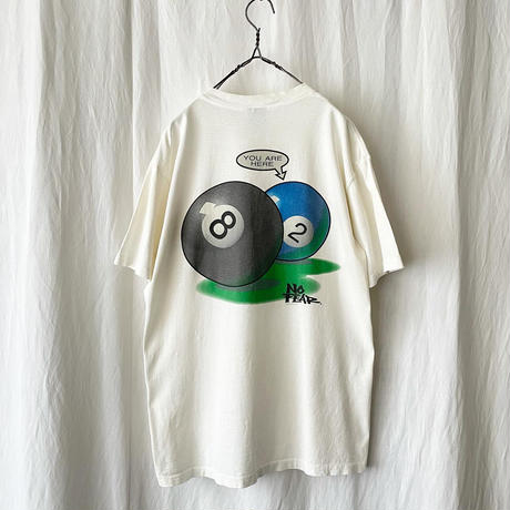 """90′s """" NO FEAR """" YOU ARE HERE Printed T- Shirts made in usa"""