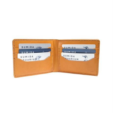 2つ折り財布 札入れ&カード 全8色