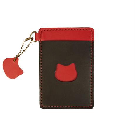 ネコのパスケース