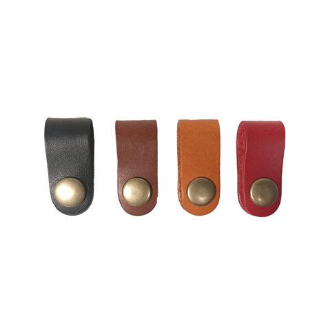 革のクリップホルダー 全4色