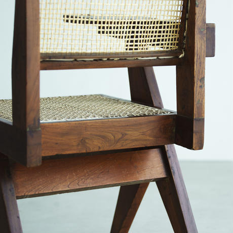 PIERRE JEANNERET ピエール・ジャンヌレ  WRITING CHAIR 1960 ORIGINAL VINTAGE (No.ASM008)