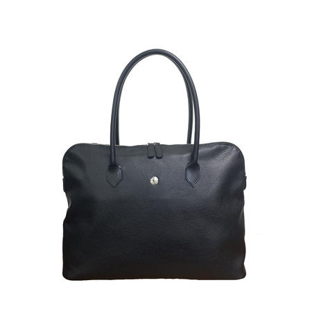Classic learher tote【Black】
