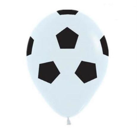 98078ae640b59 風船 13個セット サッカーボール×緑 飾り デコレーション 誕生日 結婚式 卒業 試合 ...