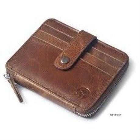 BOGESI 本革デザイン お札入れカードポケット財布