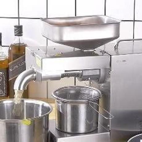 油しぼり機 電動式 搾油機 オイルプレスマシン 業務用 家庭用