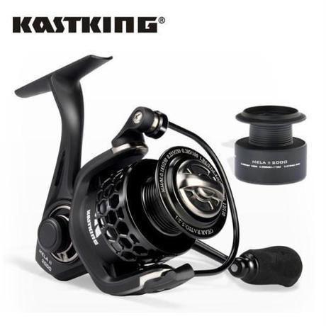 KastKing カストキング Mela II 2000 軽量 スピニングリール 替えスプール付き