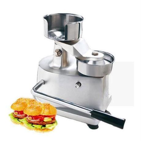 100ミリメートル or 130ミリメートル ハンバーガープレス バーガー成形機 ラウンド肉整形 アルミマシン 業務用